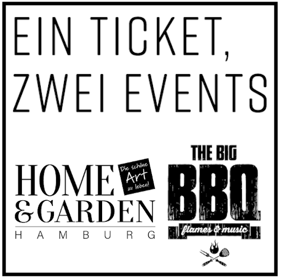 HOME & GARDEN meets THE BIG BBQ